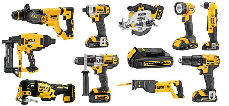 dewalt power tools & accessories