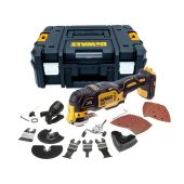 DeWalt DCS355NT 18v XR Brushless Multi Tool Bare Unit in TStak with Accessories